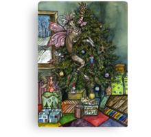 A Little Christmas Wish Canvas Print