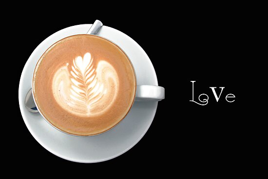 Caffe Latte Love by simpsonvisuals