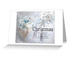 Softer and more Beautiful Greeting Card