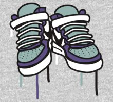 Air Force Ones - Purple and All by Anna Beswick