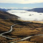Road to Cardrona by Charles Kosina