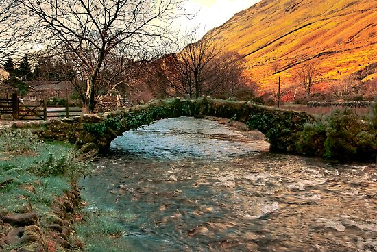 Packhorse Bridge - Wasdale Head by Trevor Kersley