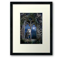 Evening Falls Framed Print