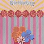 Birthday Card 1 by Tanja Udelhofen