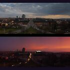 Prague Nusle Bridge double panorama 1 by SvobodaT