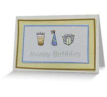 Birthday Card 4 Greeting Card
