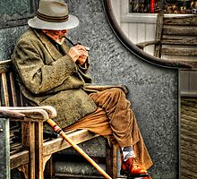 Pipe smoker by Simon Duckworth