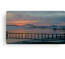 Tomales Bay, California Sunrise Canvas Print