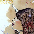 Unicorn Girl by stephanie allison