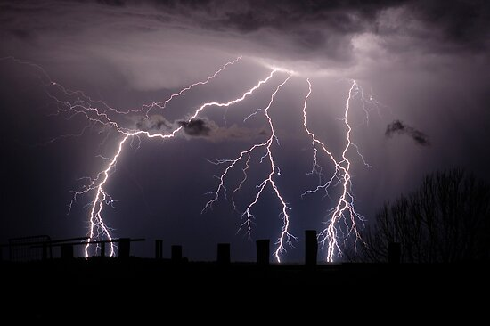 Lightning Bolts by Michael Bath