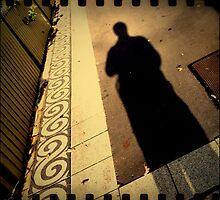 iPhone 4 Series - Footpath Shadow by David Amos