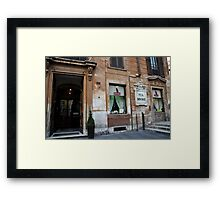 Babington Tea Rooms  Framed Print