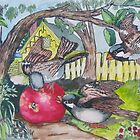 The Birds and the Apple by Jim Parker