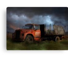 The Last Delivery Canvas Print
