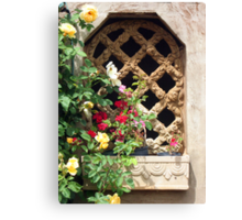 The Cottage Window Canvas Print