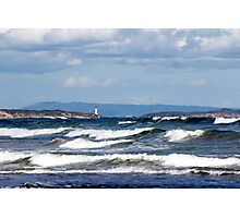 The Heads - Port Phillip Heads from Ocean Grove Photographic Print