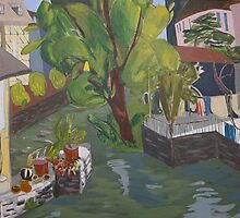 River in Chartes by Jeffrey DeVore