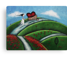 BIG-hearted Canvas Print