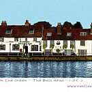 Strand on the Green - The Bulls Head by Sue Porter