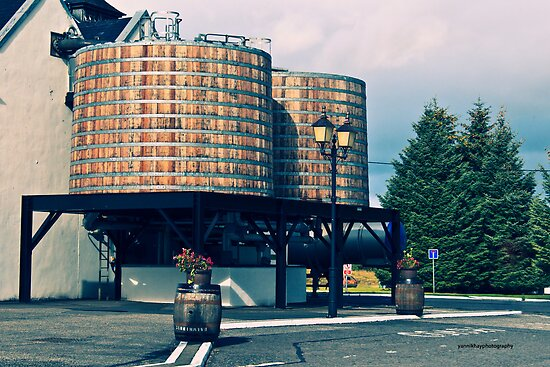 Washbacks, Dalwhinnie Distillery (Inverness-shire, Grampians, Scotland, UK.) by Yannik Hay