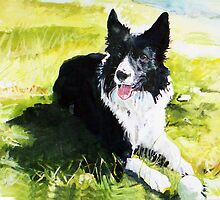 Portrait of Indy by Michael Haslam