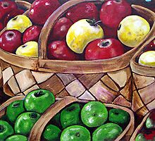 'Autumn Apples' by Jerry Kirk