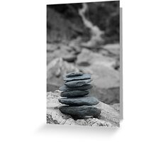The art of zen-pure and simple statement Greeting Card
