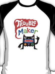 Trouble Maker V - black monster T-Shirt