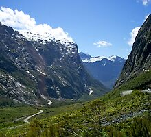 Road, Milford Sound, South Island, New Zealand. by johnrf