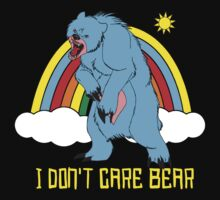 I Don't Care Bear  by BUB THE ZOMBIE
