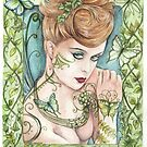Green Fairy by morgansartworld