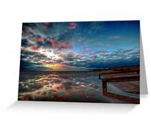 Sunset Reflections Greeting Card