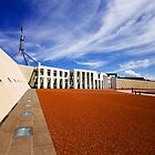 Parliament House, Canberra by Tracy Wallace