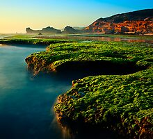 Low Tide at Sphinx Rock by Jason Green