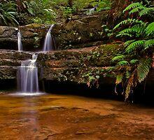 Terrace Falls #7 by VanceRoyce
