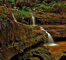 Terrace Falls #8 by VanceRoyce