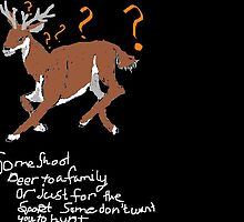 Deer  by Julie Sparks
