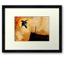 Brother Hazard Hunts In The City Framed Print