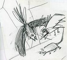Raw sketch by Marianna Tankelevich