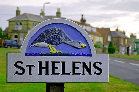 Village Sign, St Helens by Rod Johnson