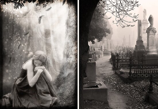 The End of All Hope - Diptych by Sybille Sterk