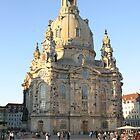 Die Frauenkirche in Dresden by Silvia Eichhorn