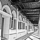 Hotel Verandah  by pennyswork