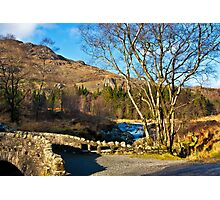 Birks Bridge over the River Duddon Photographic Print