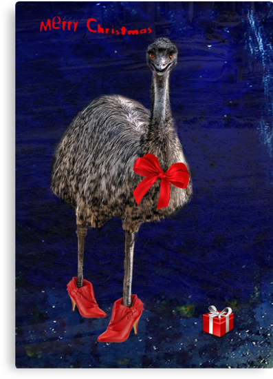 merry christmas from downunder! by carol brandt