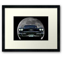 1958 Cadillac Eldorado Biarritz Convertable  Framed Print