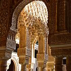 Arches of La Alhambra by Martin Stringer
