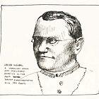 Gregor Mendel by Jeffrey Rowekamp