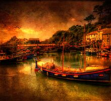 Polperro Harbour by ajgosling