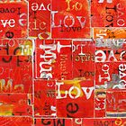 Love and Music in Red by danmasonartist